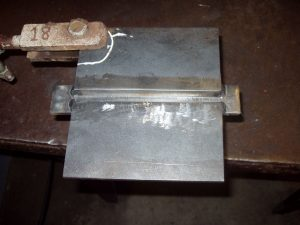 1G groove weld position