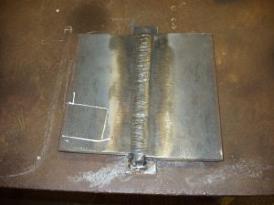 3G SMAW/Stick Welding Certification Cap Weld Finished and Cleaned