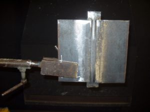 3G SMAW Coupon Marked Preweld