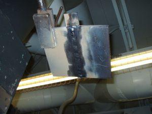 4G Overhead SMAW Filler Hot Pass
