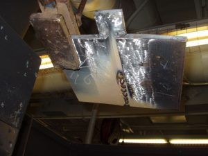 4G SMAW Overhead Root Weld Slag Covering