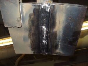 4G SMAW Stringer Cap Weld Repair