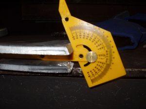 4G SMAW Test Coupon Bevel Angle