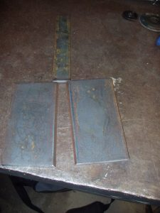 4G SMAW Test Coupons Plates