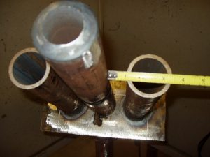 6GR Boiler Tubing Weld Clearance.