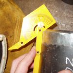 6G_Pipe_Coupons_Checking_Bevel_Angle_With_Protractor