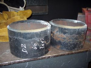 6G Pipe Coupons Cut Beveled Grinded