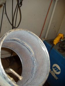 Perfect Example of a Open Root Pipe Weld using a E6010 Electrode, 1/8 electrode and Gap and 1/8 Landing.