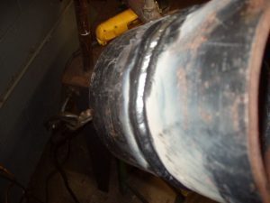6G Pipe Welding Cap E7018 Stringer Bead 2 of 3 6 to 12 O'clock Position