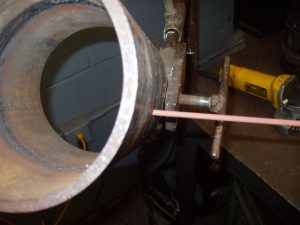 6G Pipe Welding Root E6010 Rod Angle Vertical Up