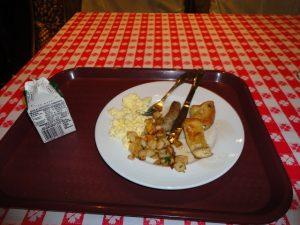 Carnival Spirit breakfast buffet