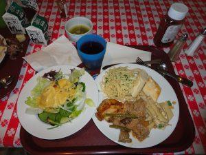 Carnival Spirit lunch buffet