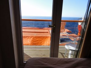 Carnival Spirit cabin view deck 5 port side