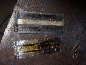 Ceramic Backing Tape Removal