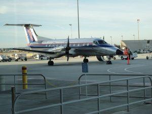 Commuter plane San Diego