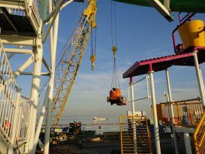 Ship loading equipment