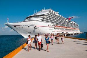 Cruise Ship Docking at Port
