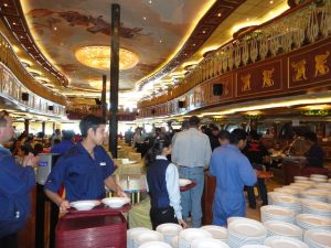 Carnival Spirit Lunch Galley