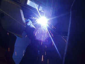 Flux Cored Arc Welding Overhead