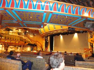 Carnival Spirit Forward Theater