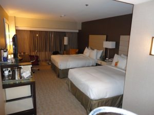 Los Angeles Airport Hilton Hotel Room