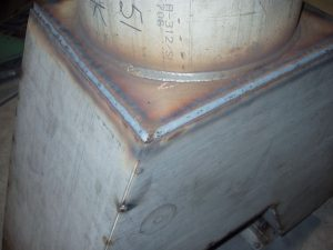 MIG 2F (Horizontal ) Stainless Steel Pipe to Plate Weld