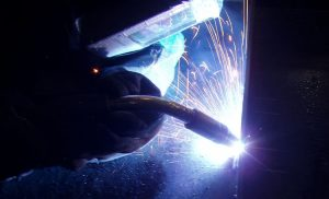 MIG Welding Technique Flat Position