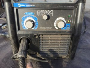 MillerMatic 211 Fluxed Cored Arc Welding Setting
