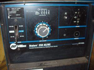 Miller Dialarc 250 welding machine