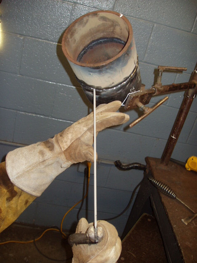 How To Do A Cap Weld On A Real 6g Pipe Welding Certification