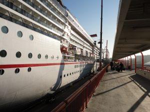 Boarding Carnival Spirit
