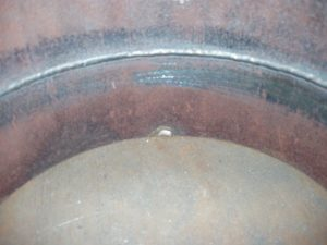 TIG Weld Open Root with Perfect Penetration.