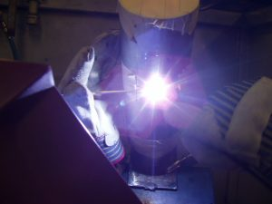 Purged Stainless Steel Pipe Welding