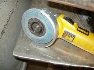 Sanding Disk for Cleaning Stainless Steel