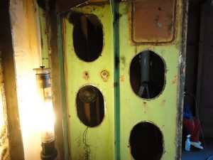 Ship bulkheads Carnival Spirit