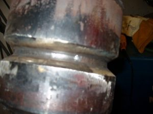 TIG Root and Hot Pass 6 inch SCH 80 6G Pipe Steel Walking the cup