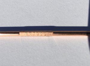 TIG Welding Electrode Wire ER6-6 Designation Stamp