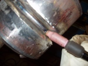 Walking the Cup TIG Left Side of Pipe