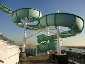 Carnival Spirit water slide